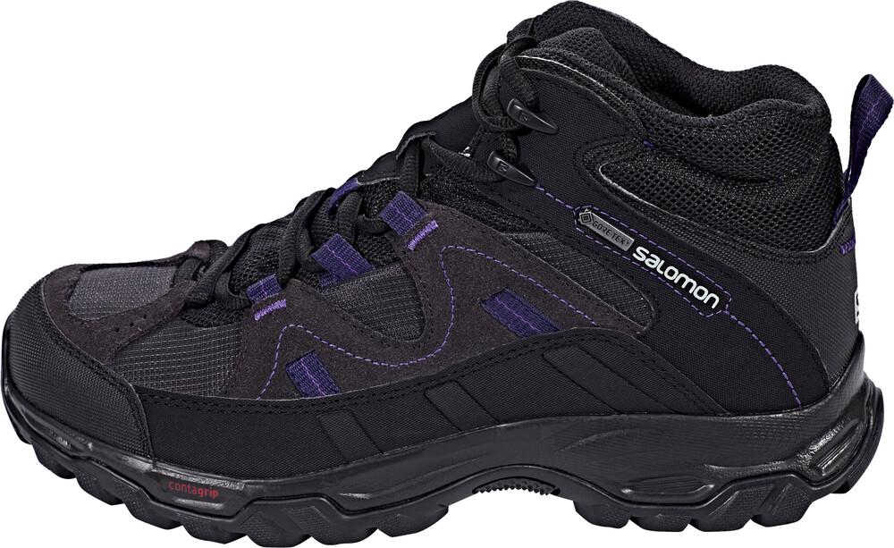 Salomon Meadow GTX Mid Hiking Shoes Women Phantom/Black/Astral Aura Schuhgröße 39 1/3 2017 Schuhe wlMGDtgEvd